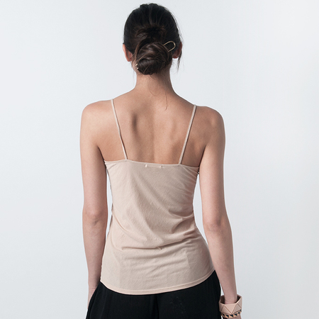 SKIN Pima Cotton Cami in Nude
