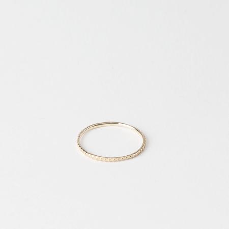 SATOMI KAWAKITA 18K Yellow Gold Petite Gear Ring