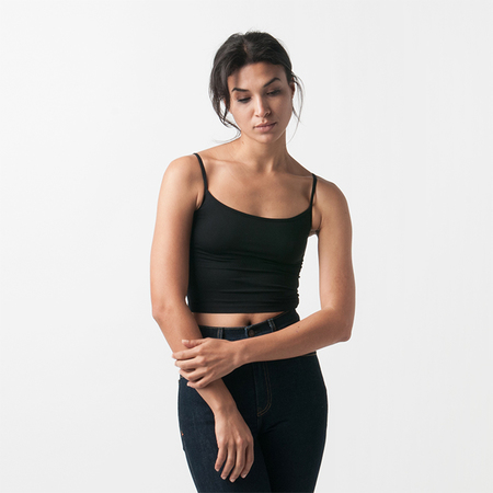 ORGANIC BY JOHN PATRICK Bralette in Black