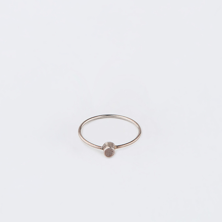 MOCIUN Cylinder Ring in Sterling Silver