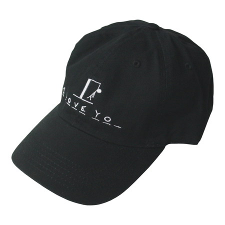 I Love You Cap (Black)