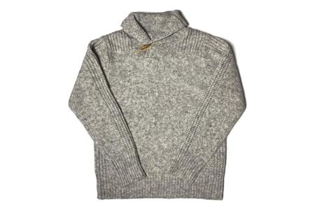 Schott Shawl Pullover Sweater - Cloud Grey