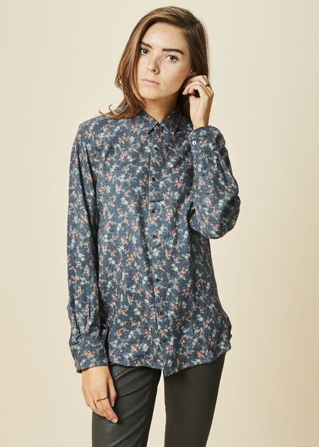 Pero Country Flower Wool Shirt