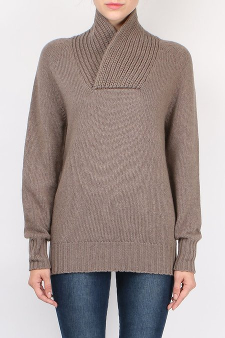 Ma'ry'ya Neck Detail Sweater