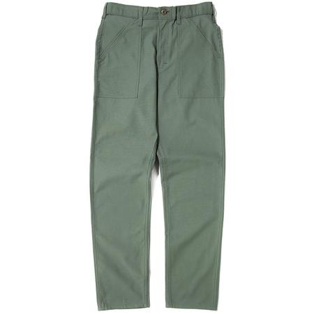STAN RAY 1200 SERIES TAPER FIT 4 POCKET FATIGUE PANT - OLIVE SATEEN