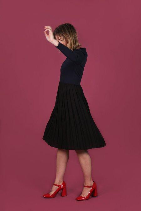 Valérie Dumaine Maite Dress - Navy/Black