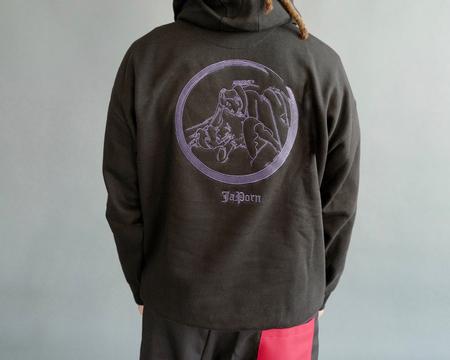 DFYNT JaPorn Hoodie-BLACK
