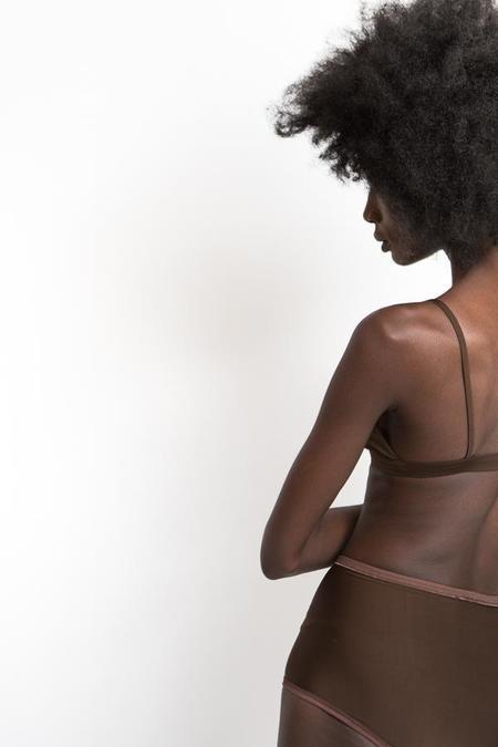 Land of Women Super Soft Highwaisted Underwear - Brown