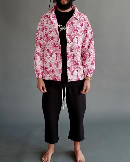 DFYNT Kung Fu Camo Coach Jacket