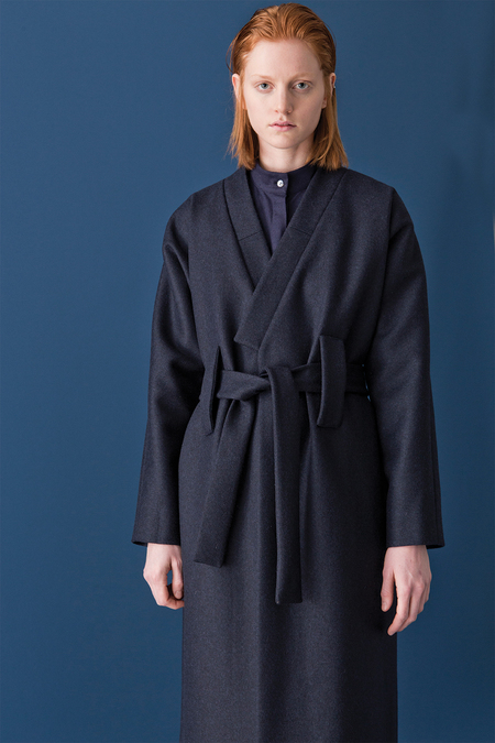 Silvae Rene Coat | Navy