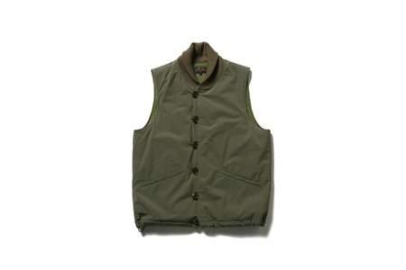 Beams + M-43 Liner Vest - Olive