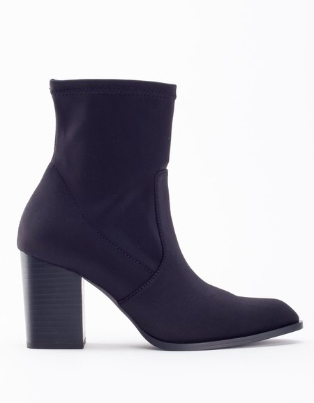 """""""INTENTIONALLY __________."""" Janet Stretch Boot - Black"""