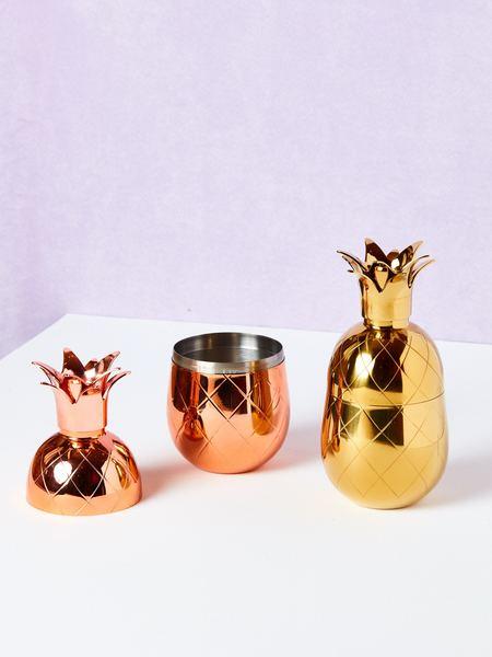 W & P Design Pineapple Cocktail Shaker