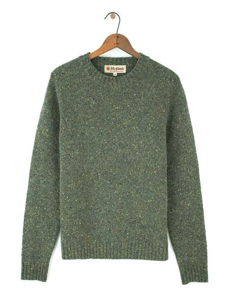 Mollusk Cambridge Sweater - Sherwood