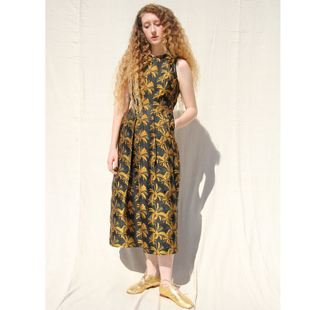 Nikki Chasin Vesta Dress - Goldenrod
