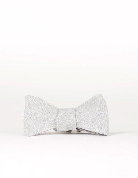 Cursor & Thread Salt and Pepper Bow Tie - Dove Grey