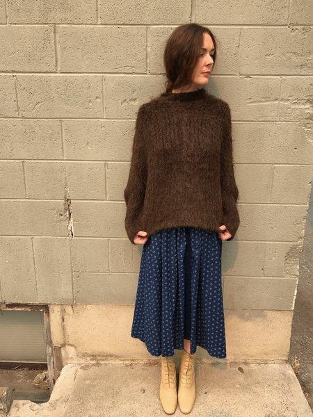 Lauren Manoogian Pyramid Pullover Sweater - Chocolate