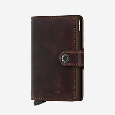 SECRID Mini Wallet - Vintage Chocolate