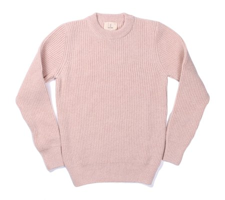 La Paz Teixeira Shetland Wool Sweater - Light Rose