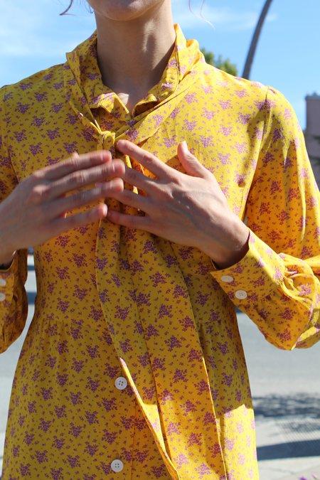 No.6 RBG Dress Lemon French Floral