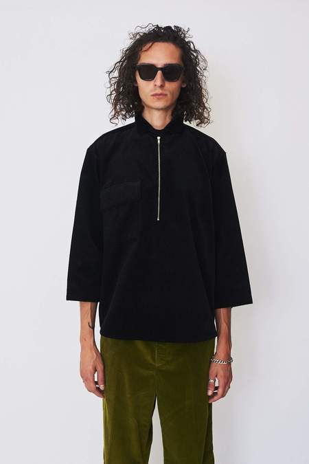 Assembly New York Wool Zip Pullover