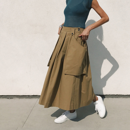 Creatures of Comfort Oak Skirt - Desert