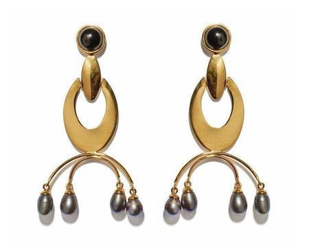 Lizzie Fortunato Gazelle Earrings