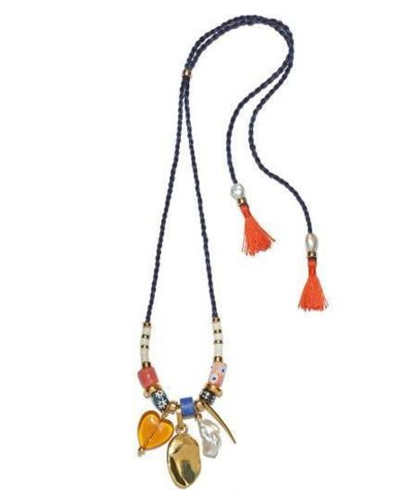 Lizzie Fortunato Mombasa Surf Necklace