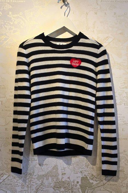 Zoe Karssen Left Coast Stripe Cashmere Sweater