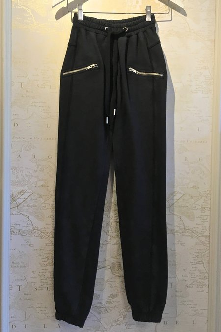 Zoe Karssen Slim Zipper Sweatpants