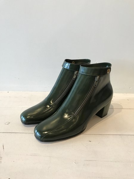 No.6 Statler Ankle Boot in Bottle Leather