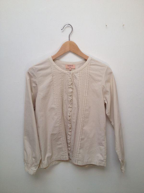 A.P.C. Madras Pintuck Shirt