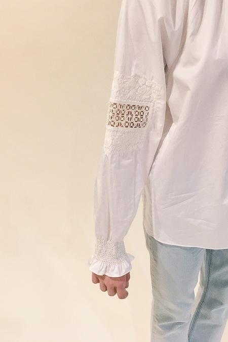 Tibi Cora Embroiderey tunic