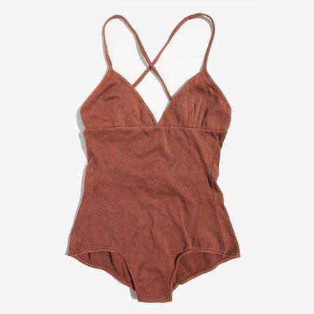 Colorant Terracotta Aiden Bodysuit