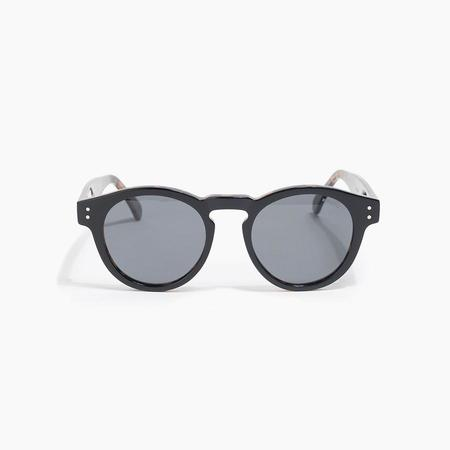 Komono Clement Sunglasses in Black Tortoise