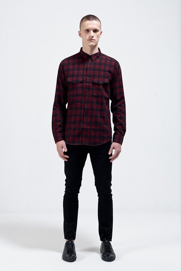 Nique Long Sleeve Shirt Takashi