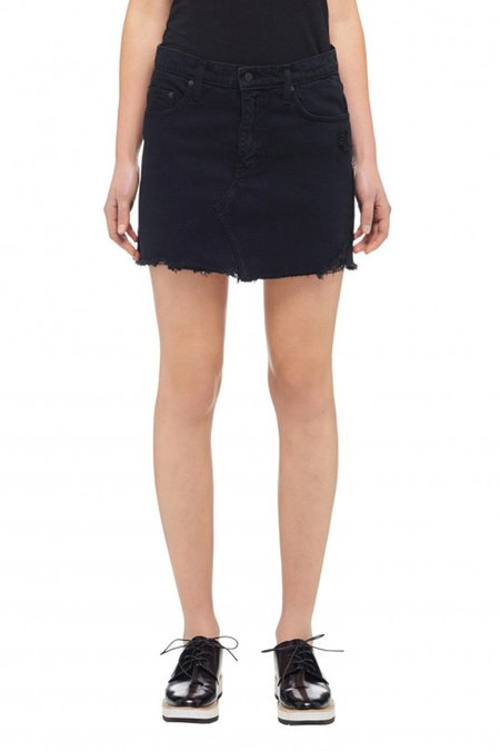 Nobody Denim Praire Skirt - Shadow