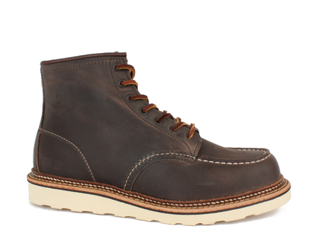 Red Wing Shoes Classic Moc Toe Boot - Concrete No. 8883