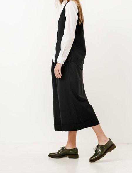 Comme des Garcons Comme des Garcons Womens Pinstripe Cuffed Pants