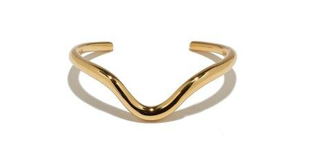 Lizzie Fortunato Delta Cuff in Gold