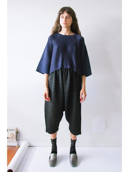 Issey Miyake Arare Square Pleat Pants