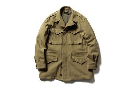 Beams + M-43 Field Jacket - Khaki