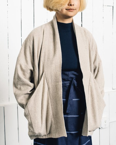7115 by Szeki Linen Sumo Jacket