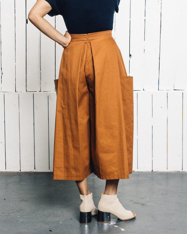 Wolcott : Takemoto Enders Culotte - Tangerine