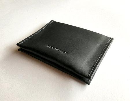 Sara Barner Double Card Holder - Black