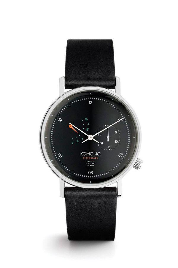 Komono Walther Retrograde - Black on Black
