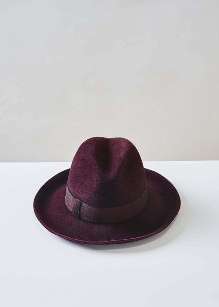 Lola Monsignor Rancher Hat - Vino