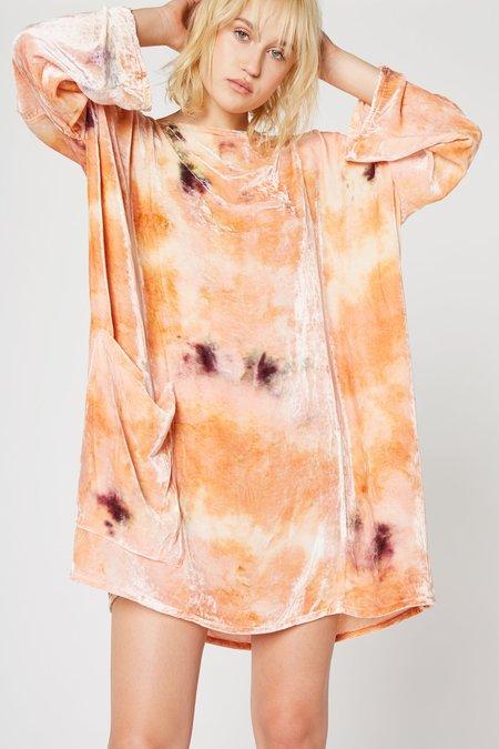 Lacausa Velvet Pocket Dress