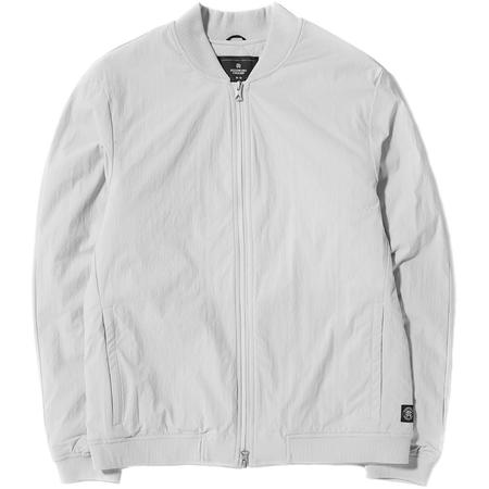 Reigning Champ Insulated Stretch Nylon Bomber Jacket - Sky Grey