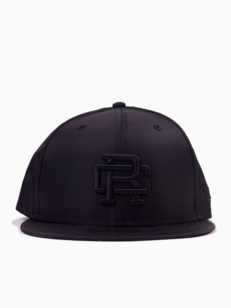 Reigning Champ x New Era Monogram Cap - Black Satin